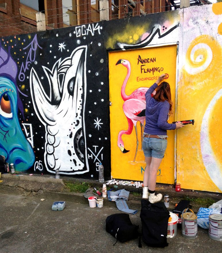 WHERE BLANK WALLS COME TO LIFE: INTRODUCTION TO STREET ARTIST JANE ...
