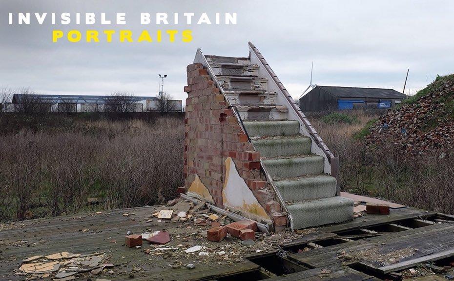 INVISIBLE BRITAIN – NEW PORTRAIT BOOK PROJECT