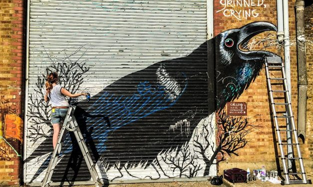 WHERE BLANK WALLS COME TO LIFE: INTRODUCTION TO STREET ARTIST JANE MUTINY